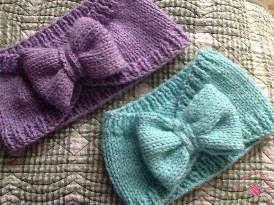Excellent Headband Patterns | I\'m Knitting - Knitting Patterns