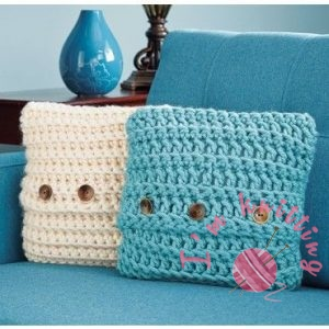Quick Crochet Pillow Cover