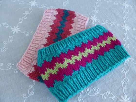 ZiggyZag headband pattern