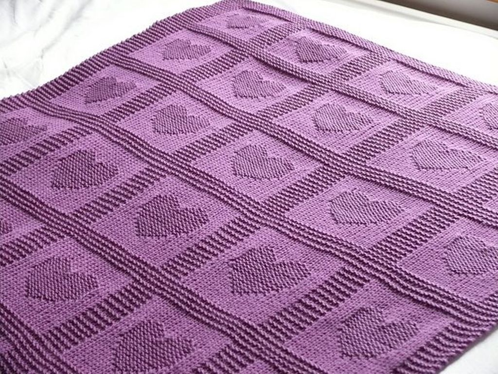 Irreplaceable Thing In Winter Baby Blankets Knitting Patterns For Beginners