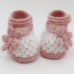 A lovely baby boties pattern