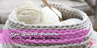 Free Knitting Basket Patterns