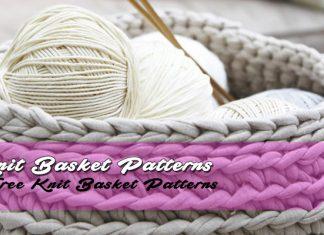 Free Knitting Basket Patterns