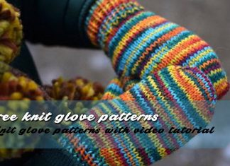 Free Knit Glove Patterns