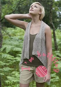 cottage knit coat