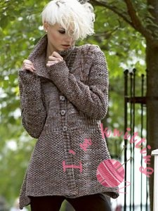 Fashionable Knitted Jacket for women