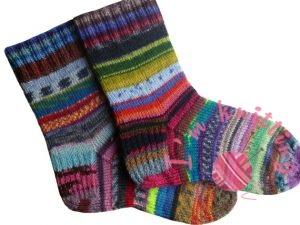 Hand Knitted Women Socks