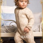 Knit Baby Romper by Nako