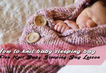 Knitted Baby Sleeping Bag Patterns