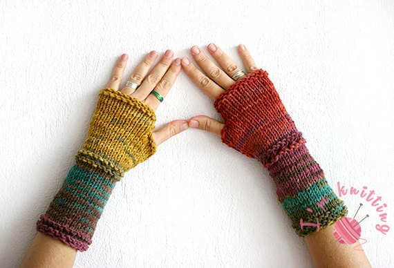 Free Knit Glove Patterns With Video Tutorial Im Knitting
