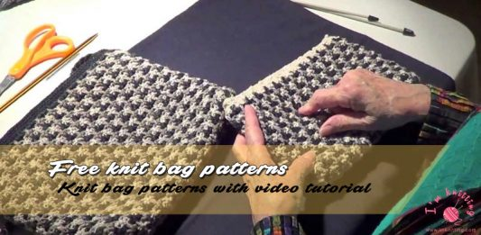 How to Knit Bag
