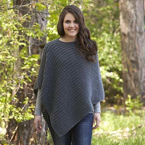 Easy Knit Poncho Patterns Im Knitting Knitting Patterns