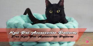 Free Knit Pet Accessories Patterns