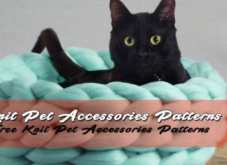 Free Knit Pet Accessories Patterns