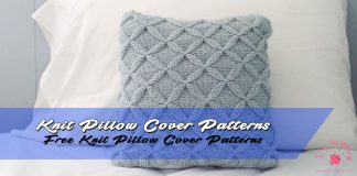 Knit Pillow Cover Patterns