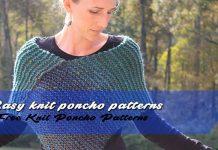 Easy Knit Poncho
