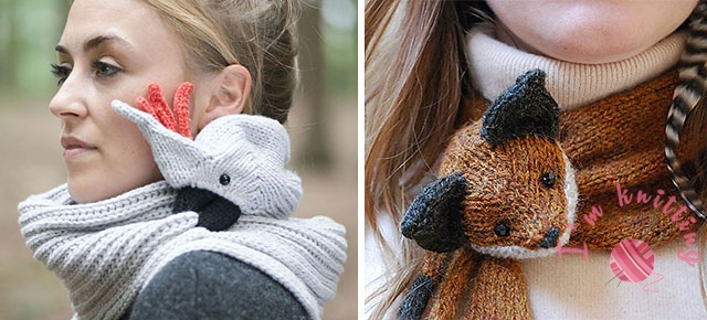 Creative Knitted Scarf