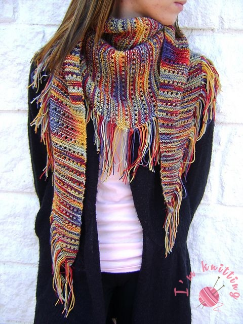 Easy Knitting Scarf Patterns Im Knitting Knitting Patterns