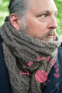 Knitted Scarf for man