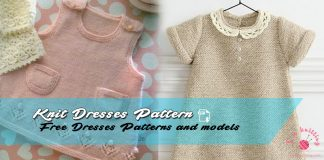 Knitted Dresses Pattern