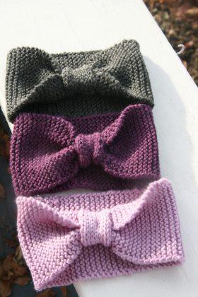 Bow-tie headband