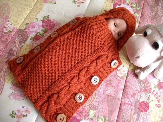 Knitted Baby Sleeping Bag Knitting Patterns For Beginners