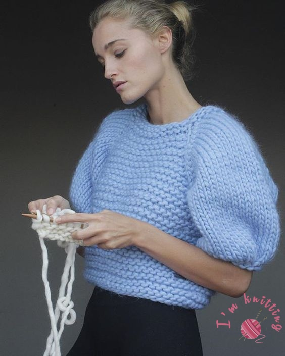 Knit Nice Blouse Pattern