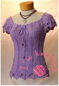 Knit Peasant Blouse Pattern