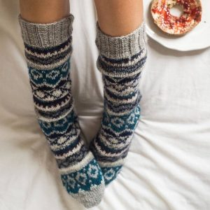 Long Hand Knit Sock
