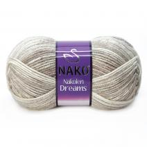 Nakolen Dreams Yarn (49% Wool, 51% Acrylic)
