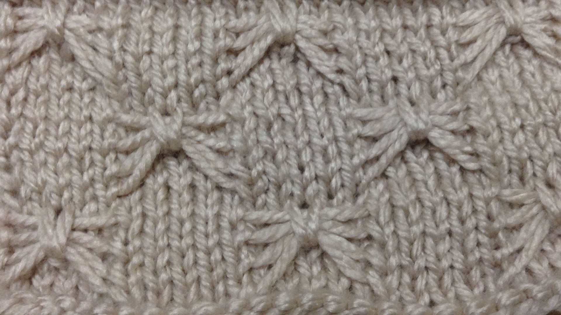 How To Knit Butterfly Stitch Knitting Patterns For Beginners