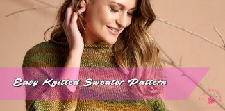 Easy Knitted Sweater Pattern