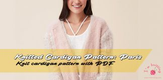 Free Knit Cardigan Pattern by Nako