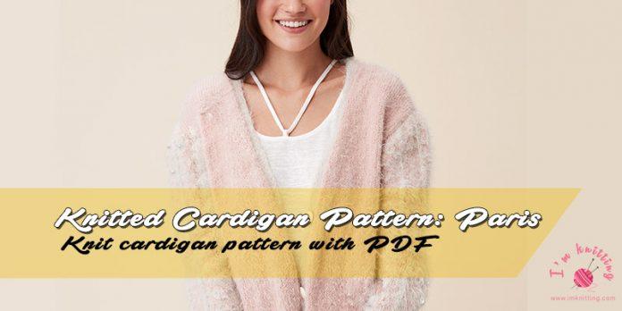 Free Knit Cardigan Pattern by Nako