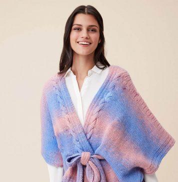 Free knit cardigan pattern -Spring