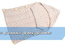 Knit Swaddle Baby Blanket Pattern