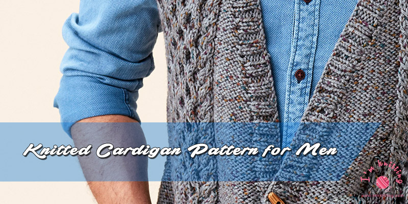 Free Knitted Cardigan Pattern For Men Vintage Cardigan Pattern I