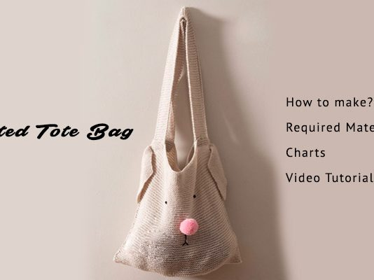 Knitting Tote Bag Pattern