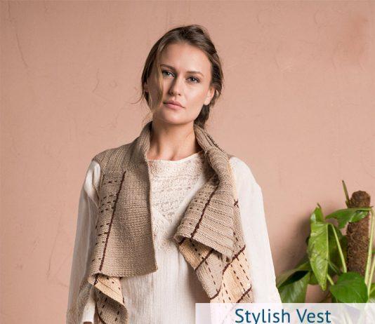 Stylish Vest Pattern by Nako