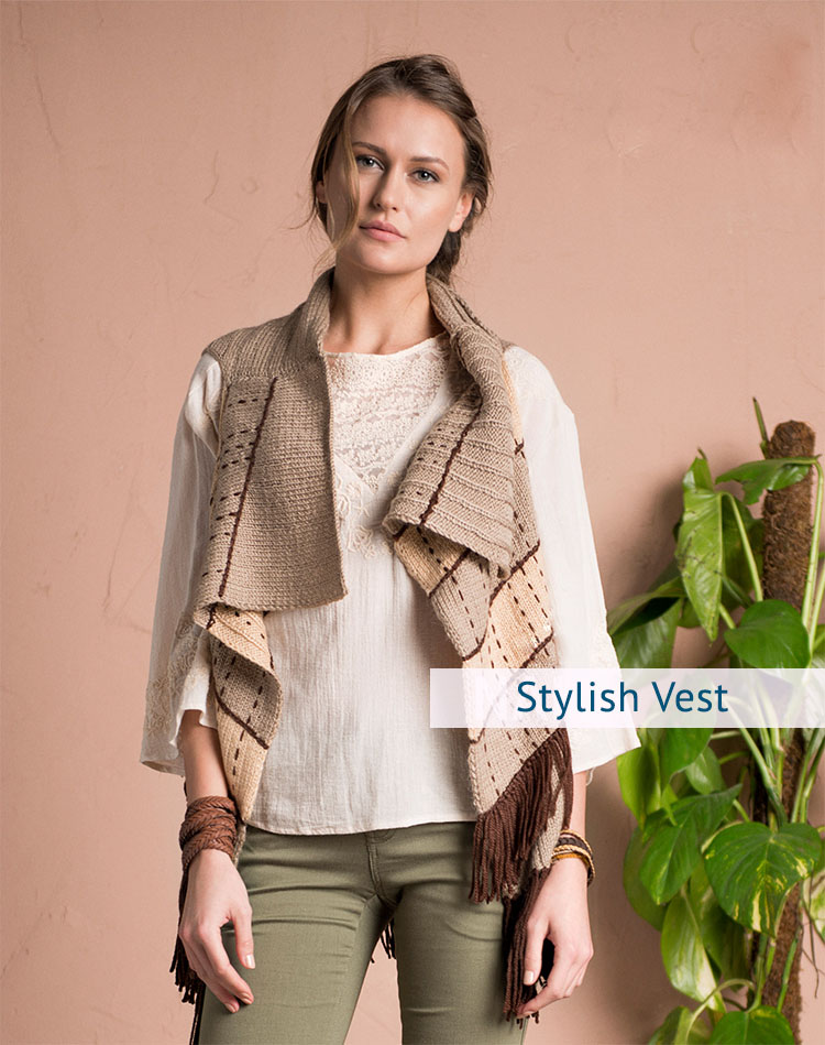 Stylish Vest Knitting Pattern For Women Im Knitting Knitting