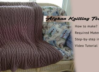Afghan Knitting Technique