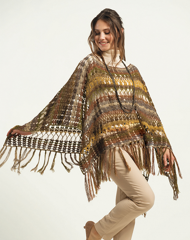 Excellent Crochet Poncho