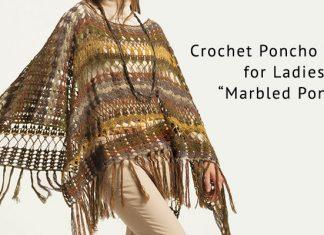 Crochet Poncho Pattern for Women