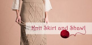 Knit Skirt and Shawl Pattern