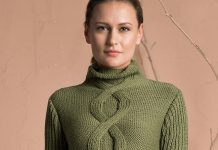 Pure Wool Sweater Knitting Pattern