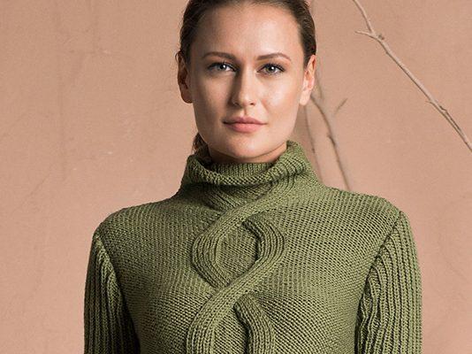 Pure Wool Sweater Knitting Pattern
