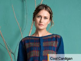 Cool Cardigan Knitting Pattern for women
