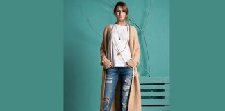 Long Cardigan Womens
