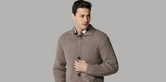 Collared Cardigan Knitting Pattern