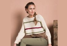 Cropped Sweater Pattern for Women